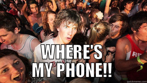 WHERE'S MY PHONE!! Sudden Clarity Clarence