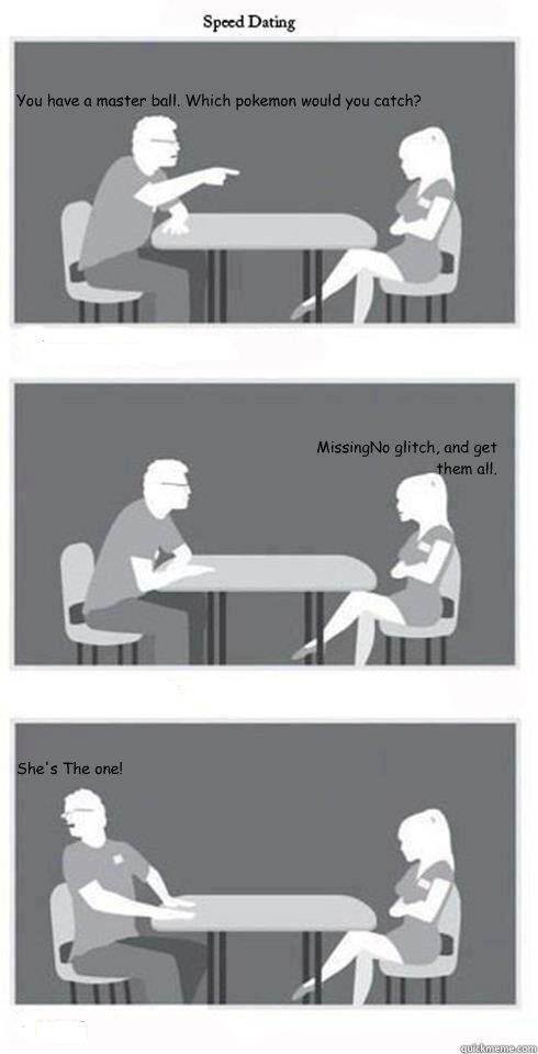 Dragon ball speed dating meme
