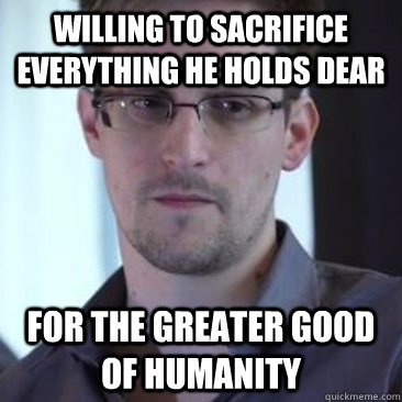 willing to sacrifice everything he holds dear For the greater good of humanity - willing to sacrifice everything he holds dear For the greater good of humanity  Misc