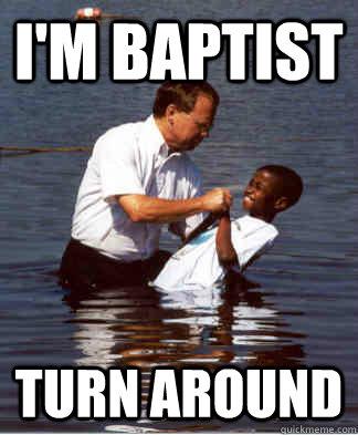 I'm baptist Turn around - I'm baptist Turn around  Jerry Sandusky