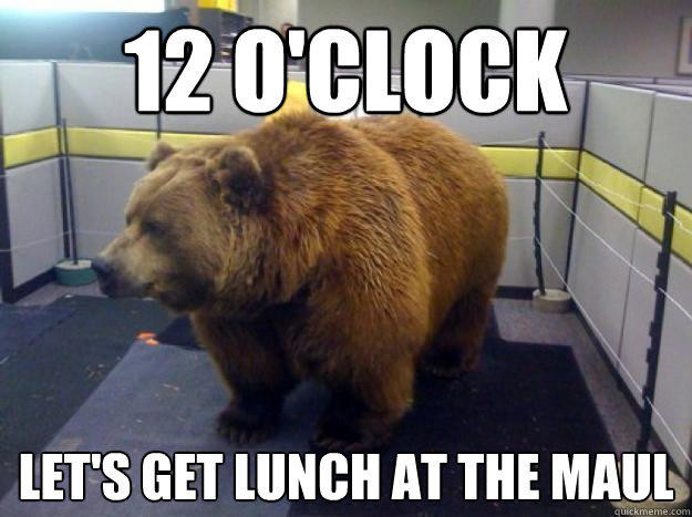 12 O'Clock Let's Get Lunch at the Maul