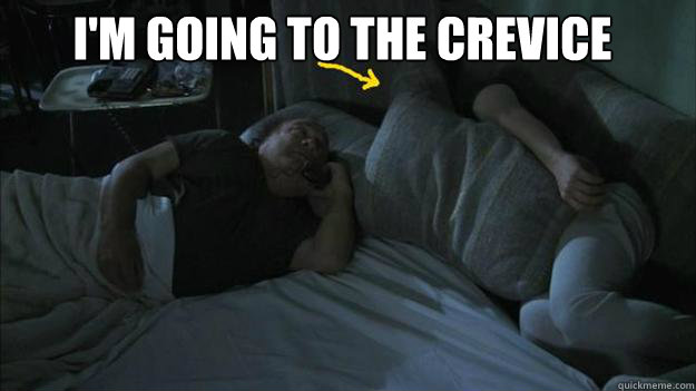 I'm going to the crevice  - I'm going to the crevice   Misc