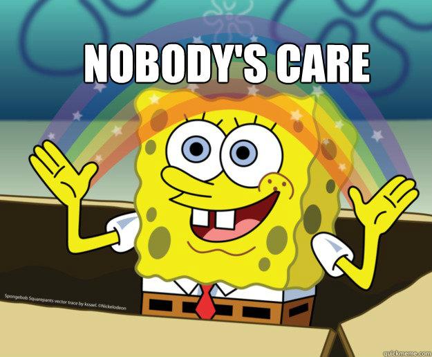 Nobody's care