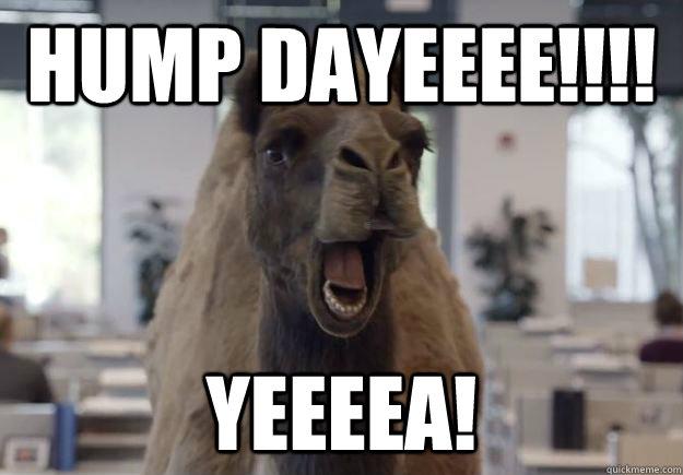 HUMP DAYEEEE!!!! YEEEEA!