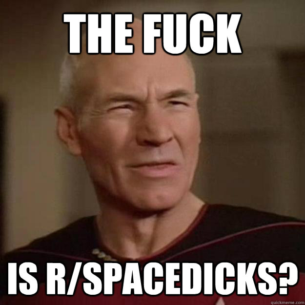 the fuck is r/spacedicks?