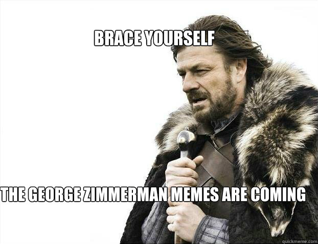 df637861d991a38968d6b825dacbb52c83bf20a7ac138b8080fc4288ec03078c brace yourself the george zimmerman memes are coming brace,George Zimmerman Memes