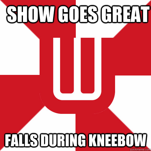 Show goes great Falls during kneebow