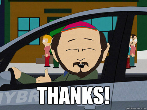 Thanks! -  Thanks!  South-park-thanks