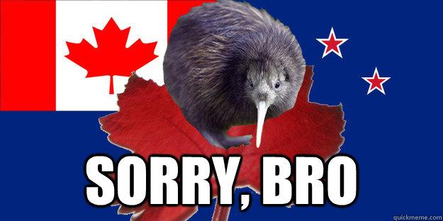 Sorry, Bro