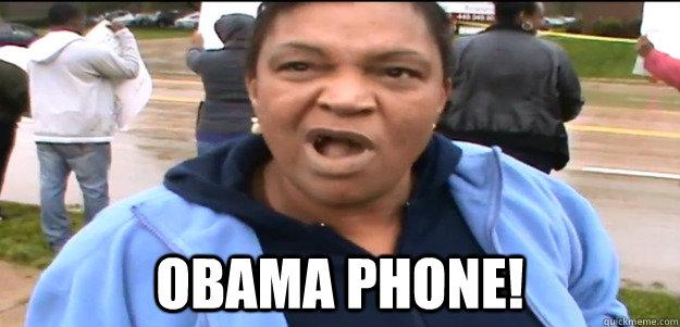 OBAMA PHONE!