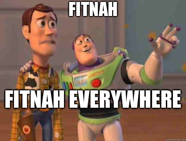 Fitnah Fitnah everywhere  - Fitnah Fitnah everywhere   Toy Story