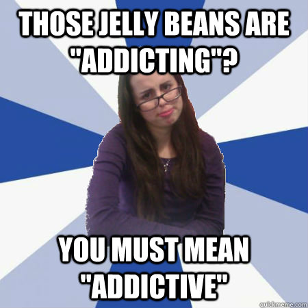 Those jelly beans are