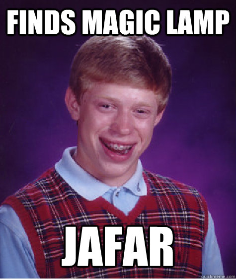 Finds magic lamp JAFAR - Finds magic lamp JAFAR  Misc
