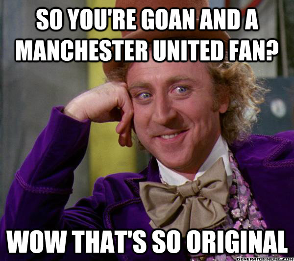 United Fans Funny a Manchester United Fan