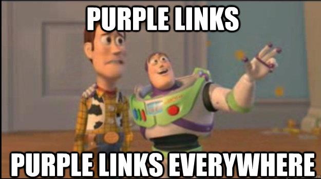 Purple Links purple links everywhere