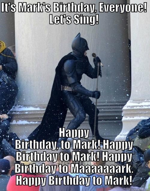 Image result for happy birthday mark