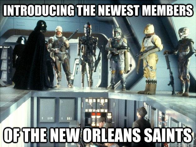 New Orleans Saints Bounty Hunters Memes Quickmeme