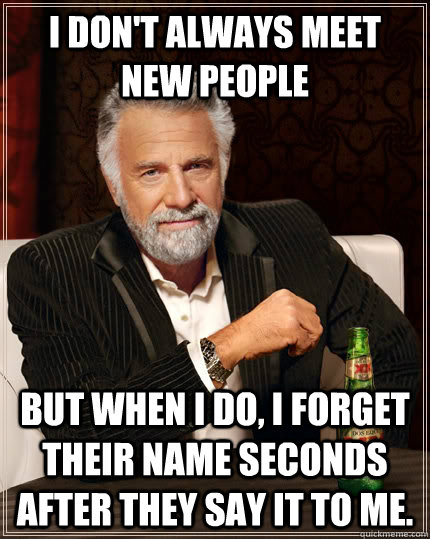 most interesting person to meet