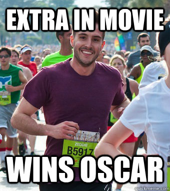 extra in movie wins oscar