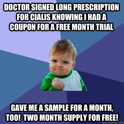 Cialis 1 Month Free Trial