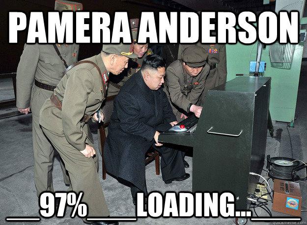 Pamera anderson __97%___LOading...___ - Pamera anderson __97%___LOading...___  kim jong un