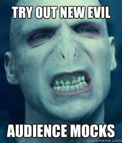 try out new evil laugh audience mocks