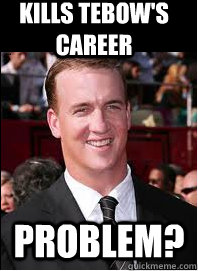 kills tebow's career problem?