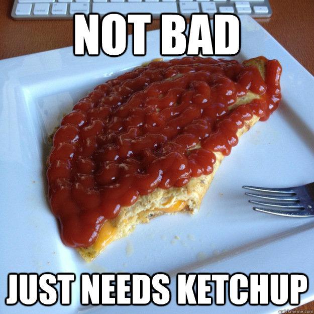 Funny Ketchup