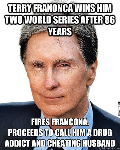 Cheating Husband Meme Funny : Terry franonca wins him two world series after years