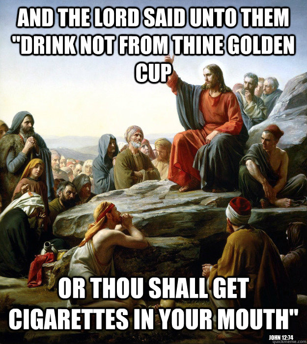 And the Lord said unto them