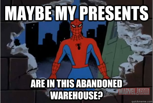 Maybe my presents are in this abandoned warehouse? - Maybe my presents are in this abandoned warehouse?  Misc