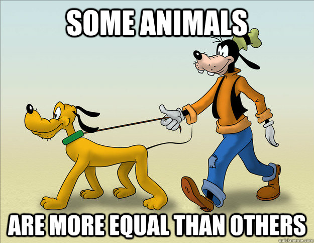 Some animals are more equal than others - Some animals are more equal than others  Misc