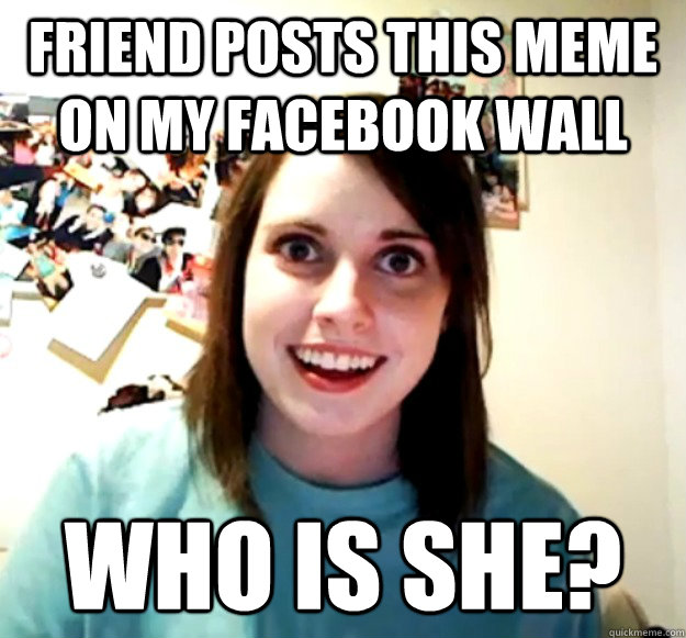 Friend posts this meme on my facebook wall who is she? - Friend posts this meme on my facebook wall who is she?  Misc