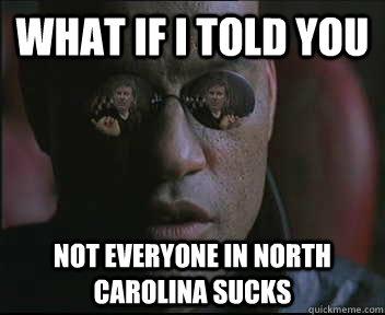 North carolina sucks