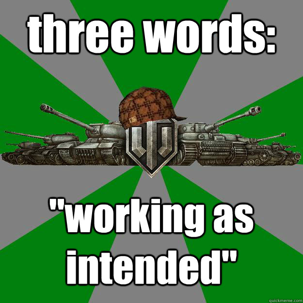 three words: