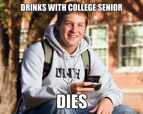 Drinks with college senior dies - Drinks with college senior dies  Misc