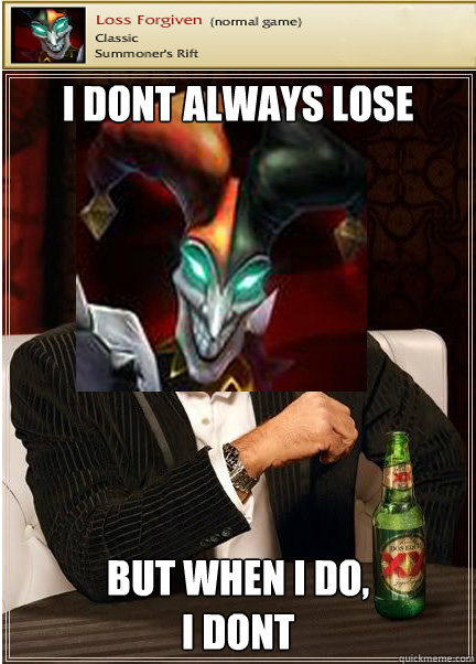 What You Need Against A Shaco? by airveen - Meme Center