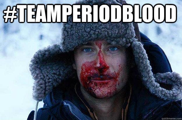 #TEAMPERIODBLOOD
