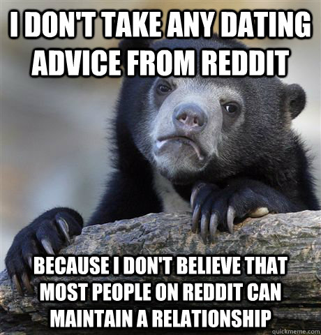 Reddit best dating advice