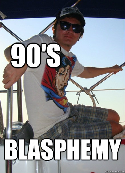 90s blasphemy boat bro quickmeme