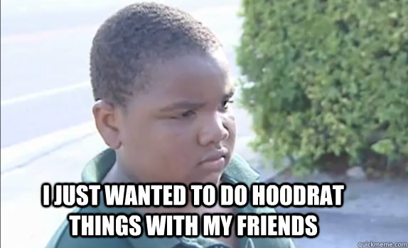 Image result for just doing hoodrat things