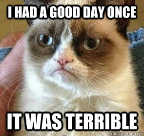 I had a good day once It was terrible - I had a good day once It was terrible  Misc