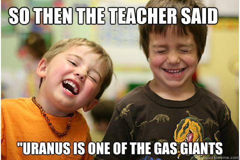 SO THEN THE TEACHER SAID