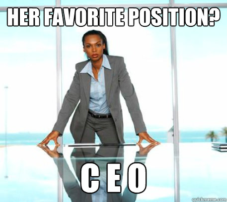 Image result for woman ceo meme