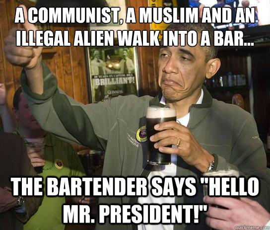 Obama gay walks weird