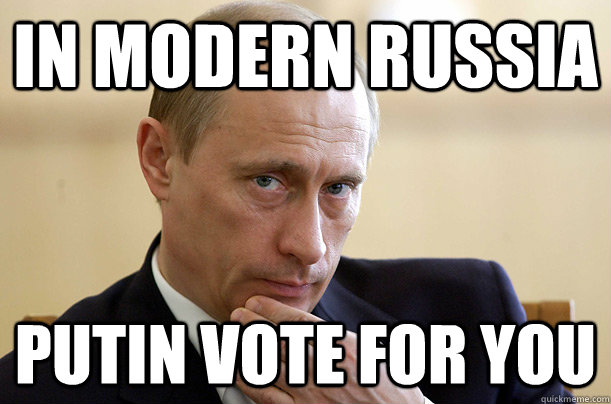 Or Vote For The Russian 11