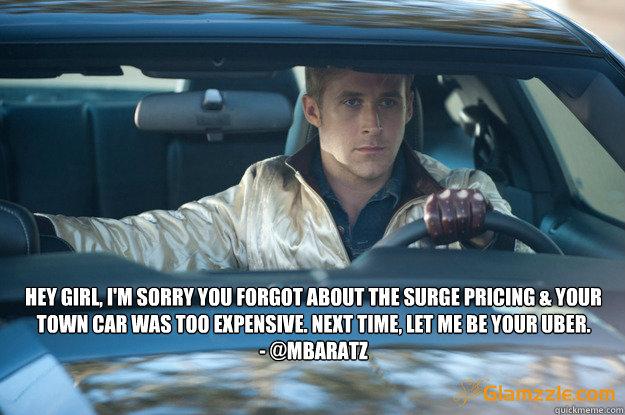 Funny Uber Memes : Ryan gosling uber memes quickmeme