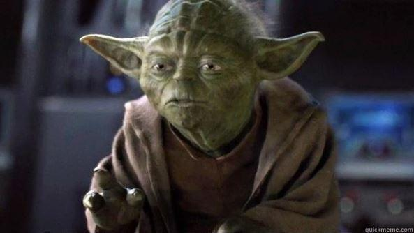 MAY THE FEND BE WITH YOU  True dat, Yoda.