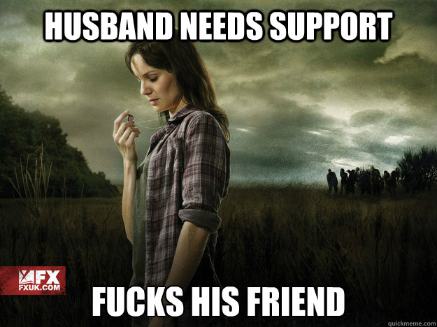 HUSBAND NEEDS SUPPORT FUCKS HIS FRIEND