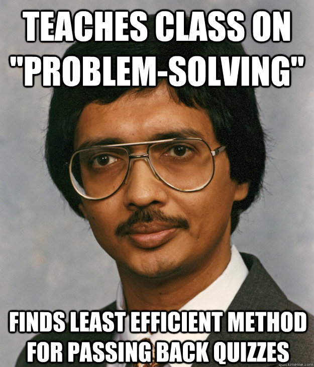 Teaches class on